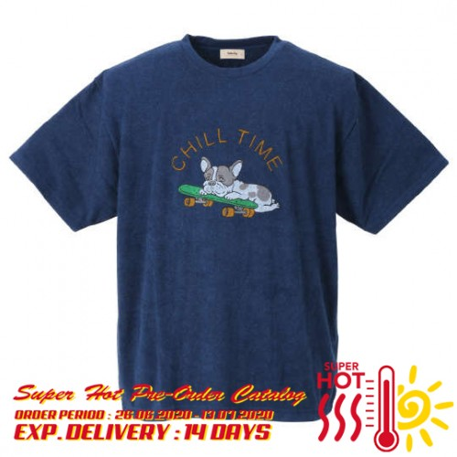Chill Time Tee - Navy
