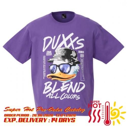 DUXXS Face Tee - Purple