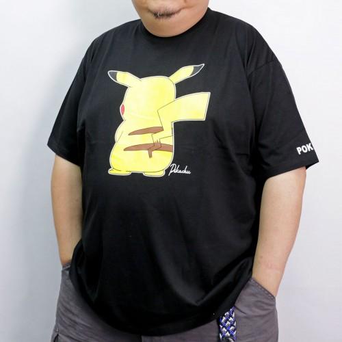 Pikachu's Back Tee - Black