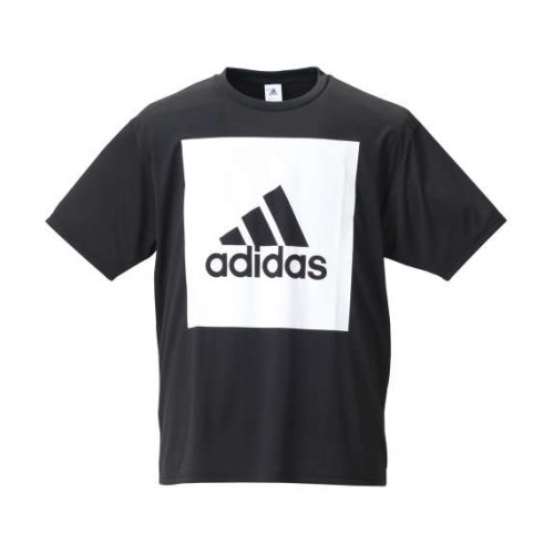 Big Square Logo Short Sleeve Tee - Black