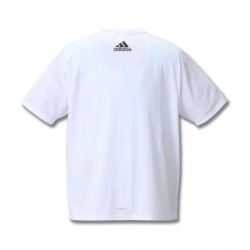 Big Square Logo Short Sleeve Tee - White